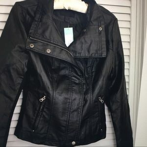NWT Rhonda Faux Leather Jacket from Stitch Fix